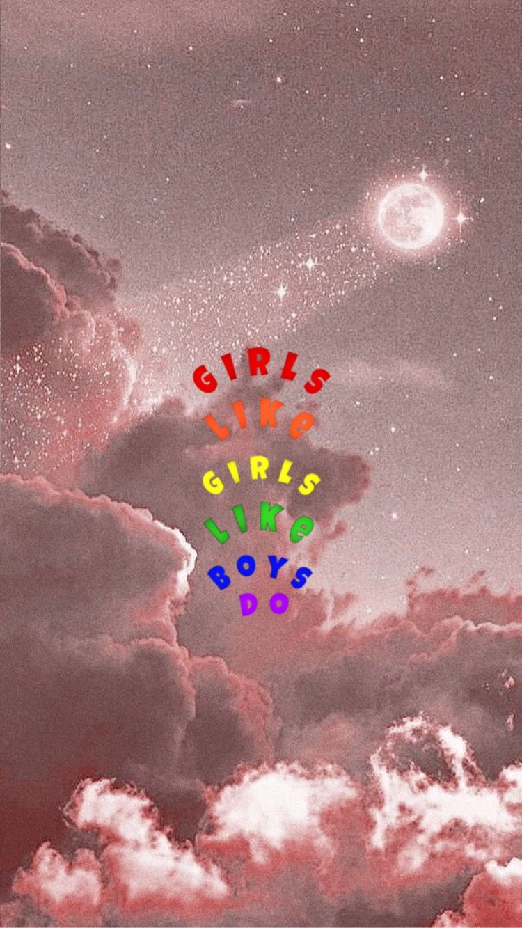 Girls Like Girls Wallpaper Rainbow Wallpaper Iphone Cool Backgrounds Wallpapers Aesthetic Iphone Wallpaper
