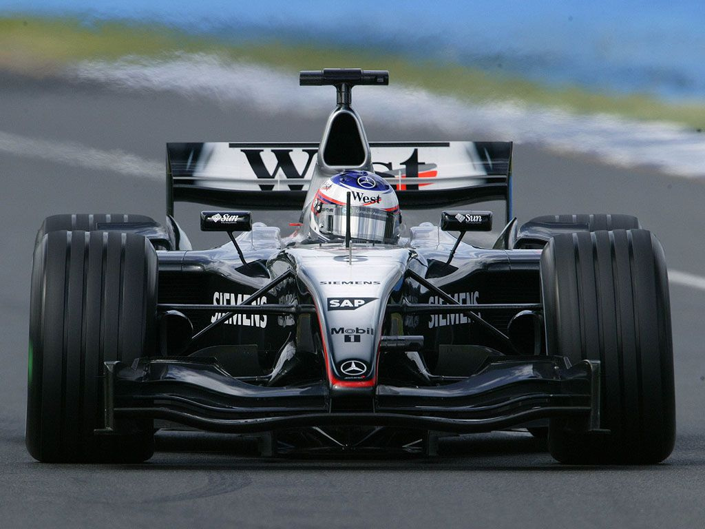 Mclaren MP4-19. Formula1 2004. Finished 5th in the ...