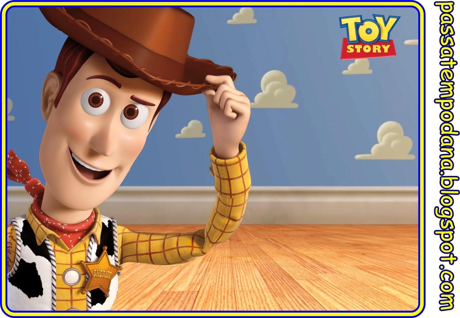 Toy Story Invitaciones Y Etiquetas Para Candy Bar Para