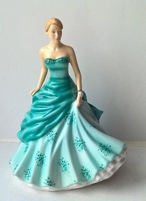 Royal Doulton Petite Figure of the Year 2016 Abigail HN5773 - New and Boxed