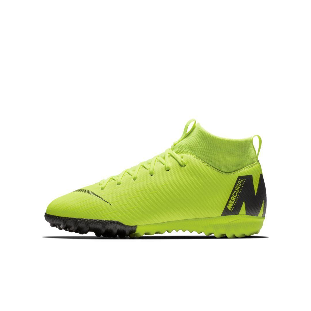 62f86a8f8 Nike Jr. MercurialX Superfly VI Academy Little/Big Kids' Turf Soccer Shoe  Size 3.5Y (Volt)