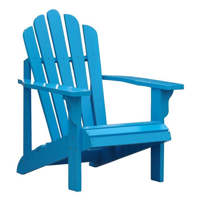 Westport Adirondack Chair in Turquoise