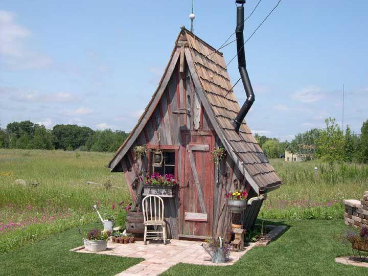 Home & Garden: Abris de jardin rétro | TinySpaces ❃ | Pinterest ...