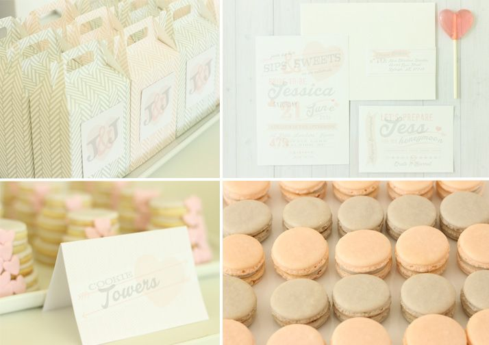 498ec9453201 Pink   Gray Themed Bridal Shower by Kate Landers from Layla Grayce   katelanders  laylagrayce