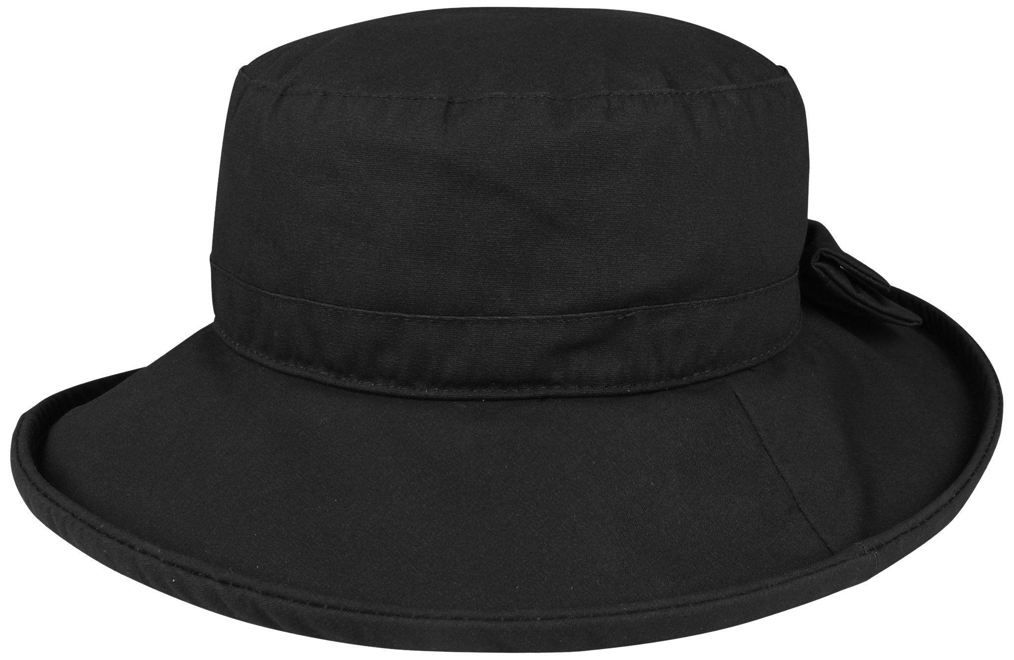 Juniper Women s Waxed Cotton Canvas Wide Brim Bucket Hat a329a7a99
