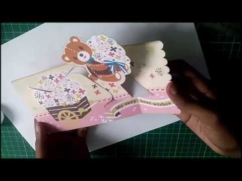 Wishing Teddy Bear Pop Up Card D I Y Free Template Throughout Teddy Bear Pop Up Card Temp Pop Up Card Templates Pop Up Valentine Cards Card Templates Free
