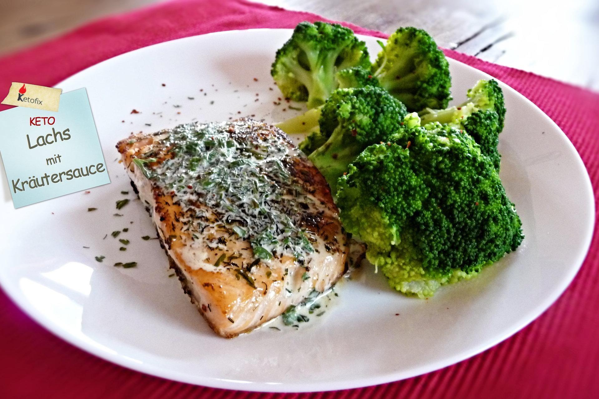 Lachs mit Kräutersauce - Rezept - Ernährungsplan, Lachs..