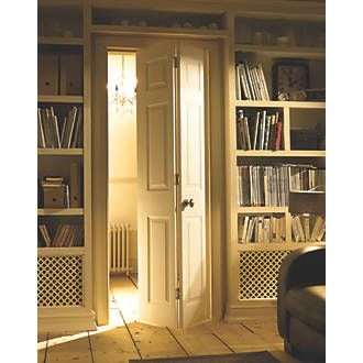 Order online at Screwfix.com. 6-panel interior bi-fold door with woodgrain effect finish for a traditional look that brightens up any home.  sc 1 st  Pinterest & Order online at Screwfix.com. 6-panel interior bi-fold door with ...