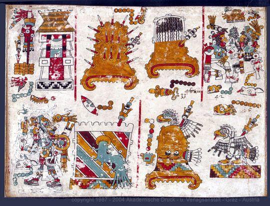 FAMSI - Akademische Druck - u. Verlagsanstalt - Graz - Codex Zouche-Nuttall