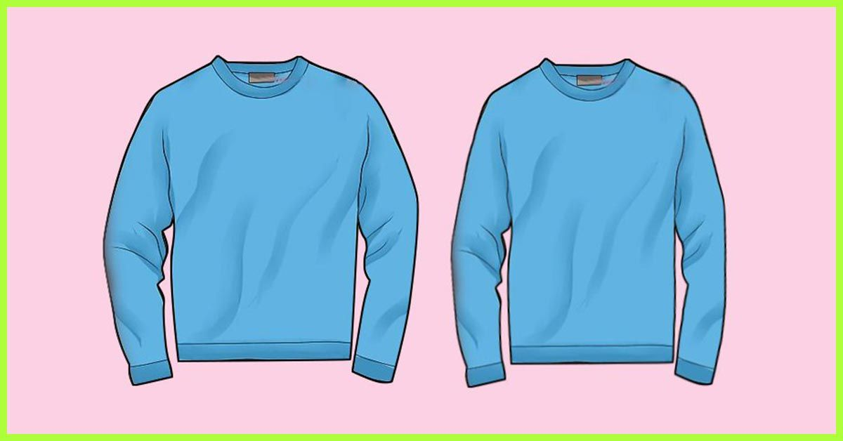 How To Shrink Clothes Cotton Polyester Silk And Denim In 2020 How To Shrink Clothes Clothes Long Sleeve Tshirt Men