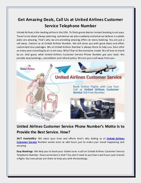 Pin by Airlines Phone Number on United Airlines Customer