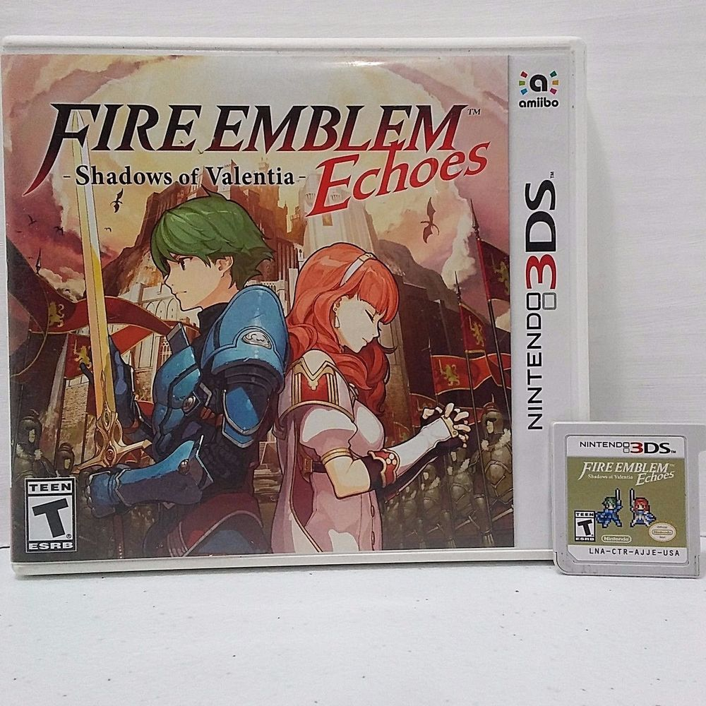 Fire Emblem Echoes Shadows Of Valentia Complete Nintendo 3ds 2ds 3dsfire Shadow Fast Shipping