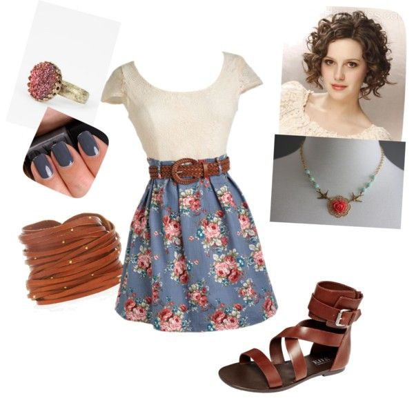 """""""Country Romance"""" by kyttin2000 on Polyvore"""