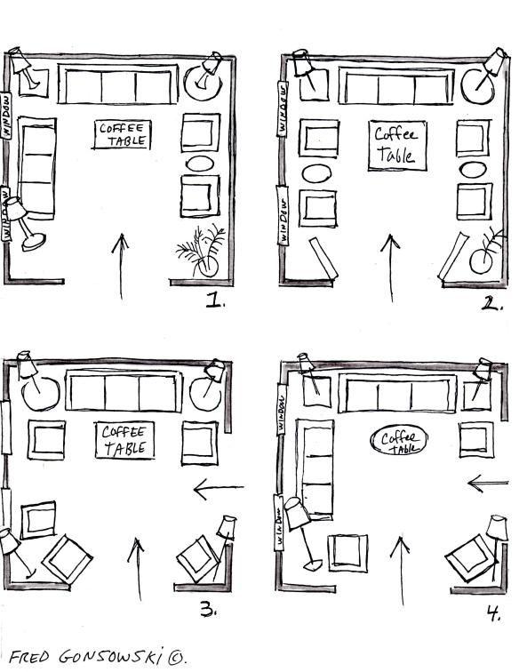 Living Room Furniture Arrangement, Room Furniture Layout