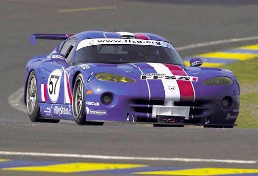 2001 Dodge Viper Gts R Team Oreca Race Car Symbol France Colors
