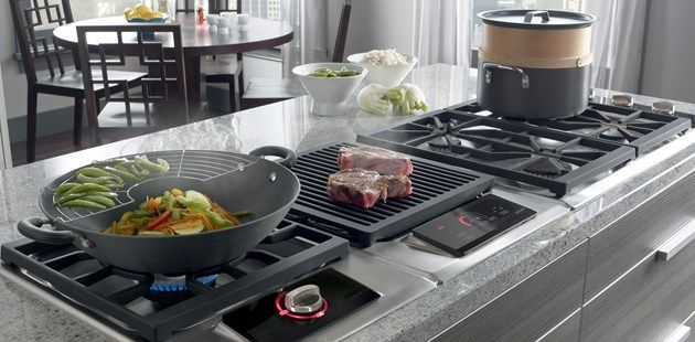 Cooktop Gas With French Top Not Grill Separate Modules With Images Kitchen Stove Cooktop Wolf Cooktop