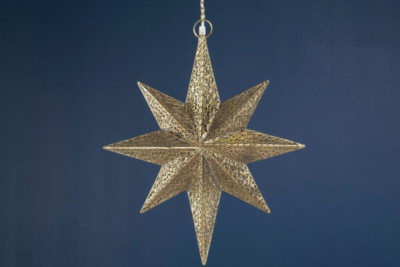 Lampe Stern Metall Antik Gold Weihnachten Shabby Vintage Landhaus Deko In 2020 Vintage Shabby Chic Shabby Chic Chic