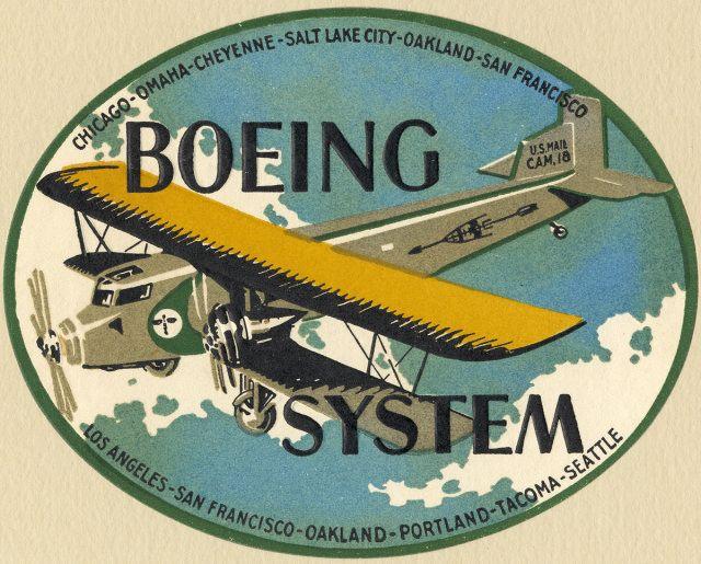 Vintage Boeing