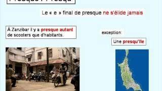 Difficultés du français 2 - Fiche interactive ici : http://www.francaisfacile.com/exercices/exercice-francais-2/exercice-francais-100645.php