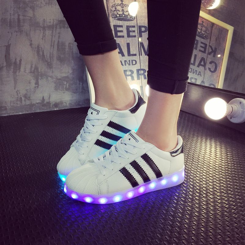 led sneakers femme adidas