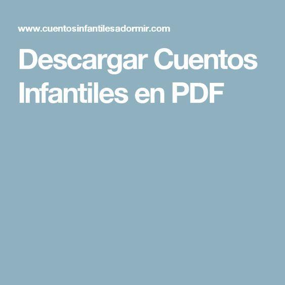 Descargar Cuentos Infantiles En Pdf Cuentos Infantiles Pdf Cuento Infantiles Cuentos