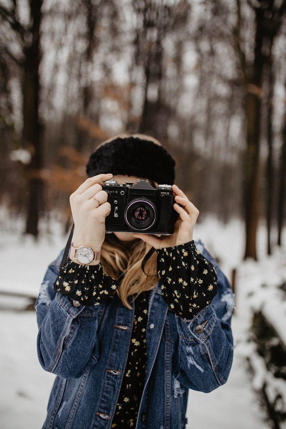 Sukienka Maxi W Kwiaty Rozalia Denim Jacket Winter Winter Dress Outfits Maxi Outfits