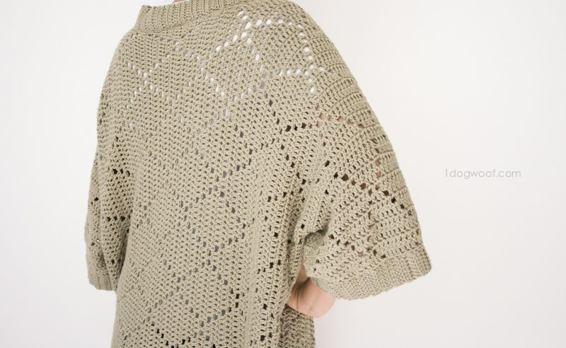 Summer Diamonds Kimono Cardigan | Motivo de ganchillo, Para bebés y ...
