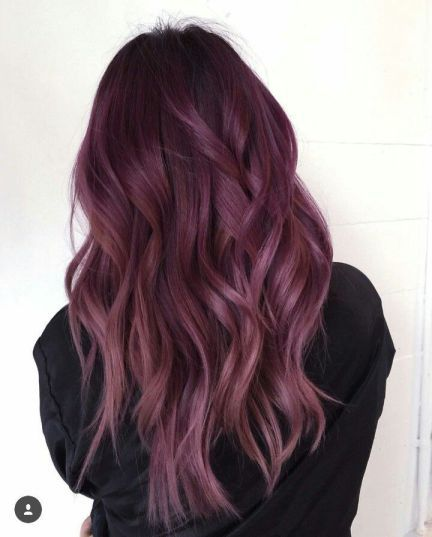 sweet mauve hair color ideas