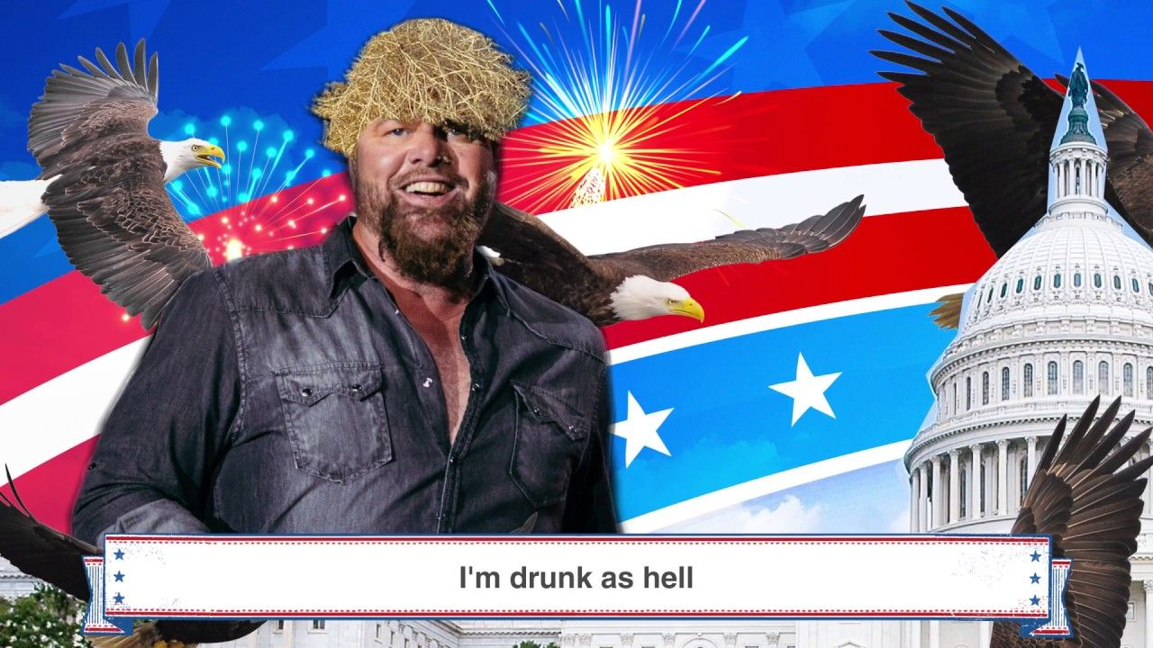Toby Keith Inauguration Day (Make It Great) Lyric Video