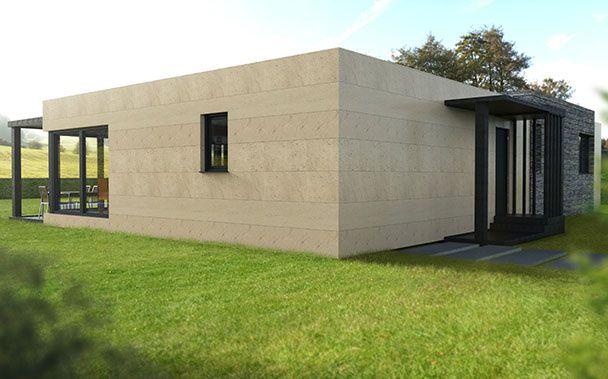 Casas modulares prefabricadas Cube u2013 Cube 150 Modelos estándar de - casas modulares