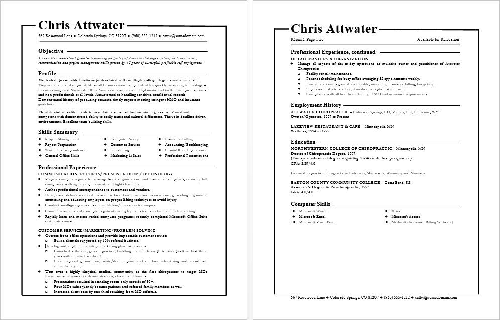 Resume format tips for functional resumes Functional