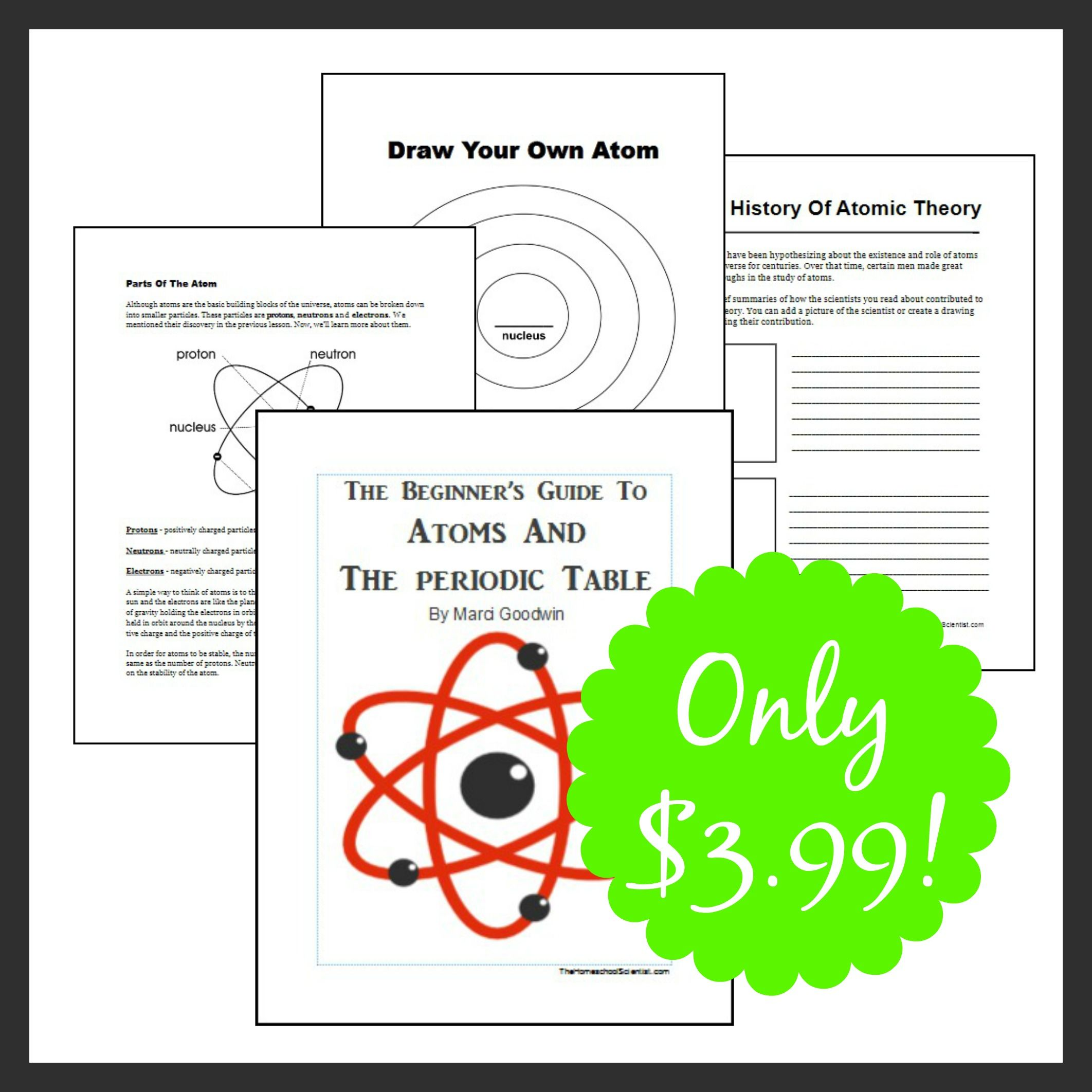 The Beginner S Guide To Atoms And Periodic Table