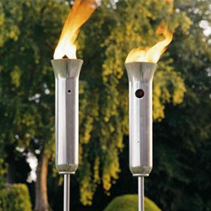 Incroyable Olympic Torch   Propane Patio Torches