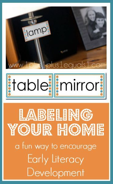 Photo of Labeling Your Home to Help with Early Literacy Development