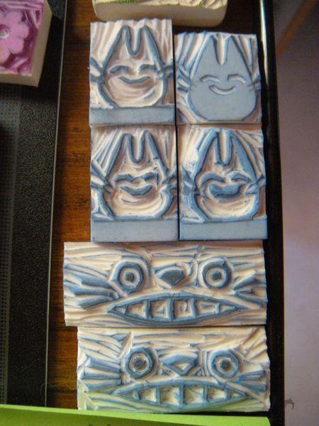 Totoro tampon encreur
