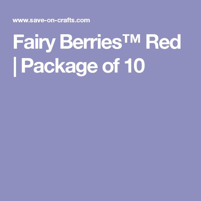 Fairy Berries™ Red | Package of 10