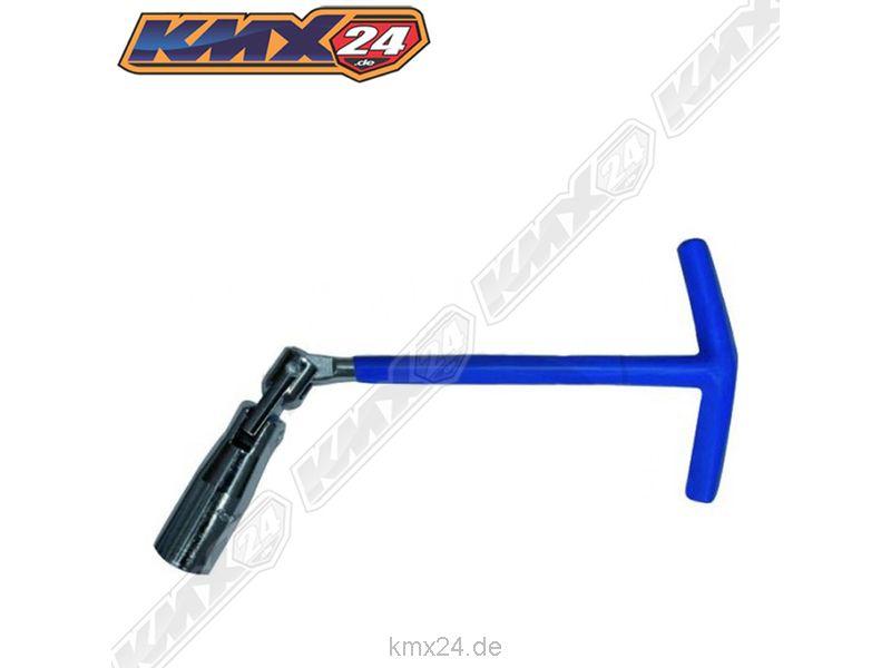 JMP Zündkerzenschlüssel passt bei KTM 4-T Beta RR 250 400 450 520 525 16mm gelb