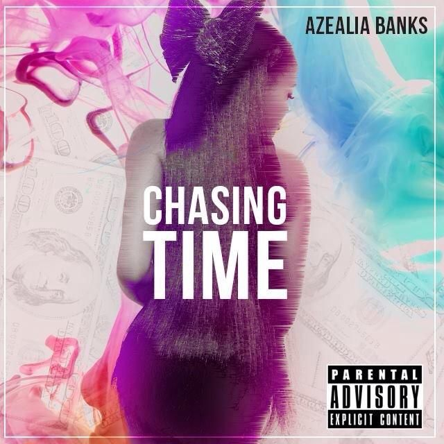 Azealia Banks – Chasing Time (single cover art)