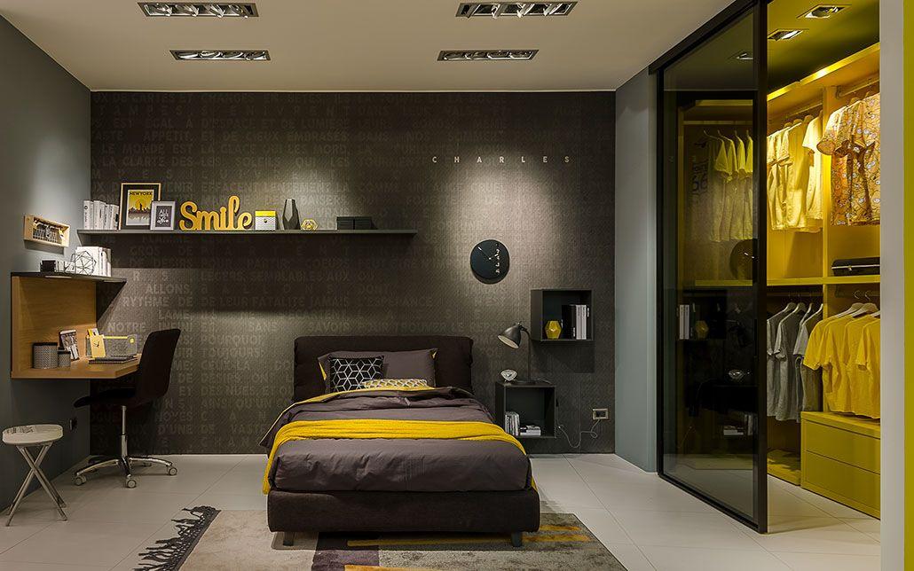Camerette Moretti Compact Contemporary Bedroom Decor Modern