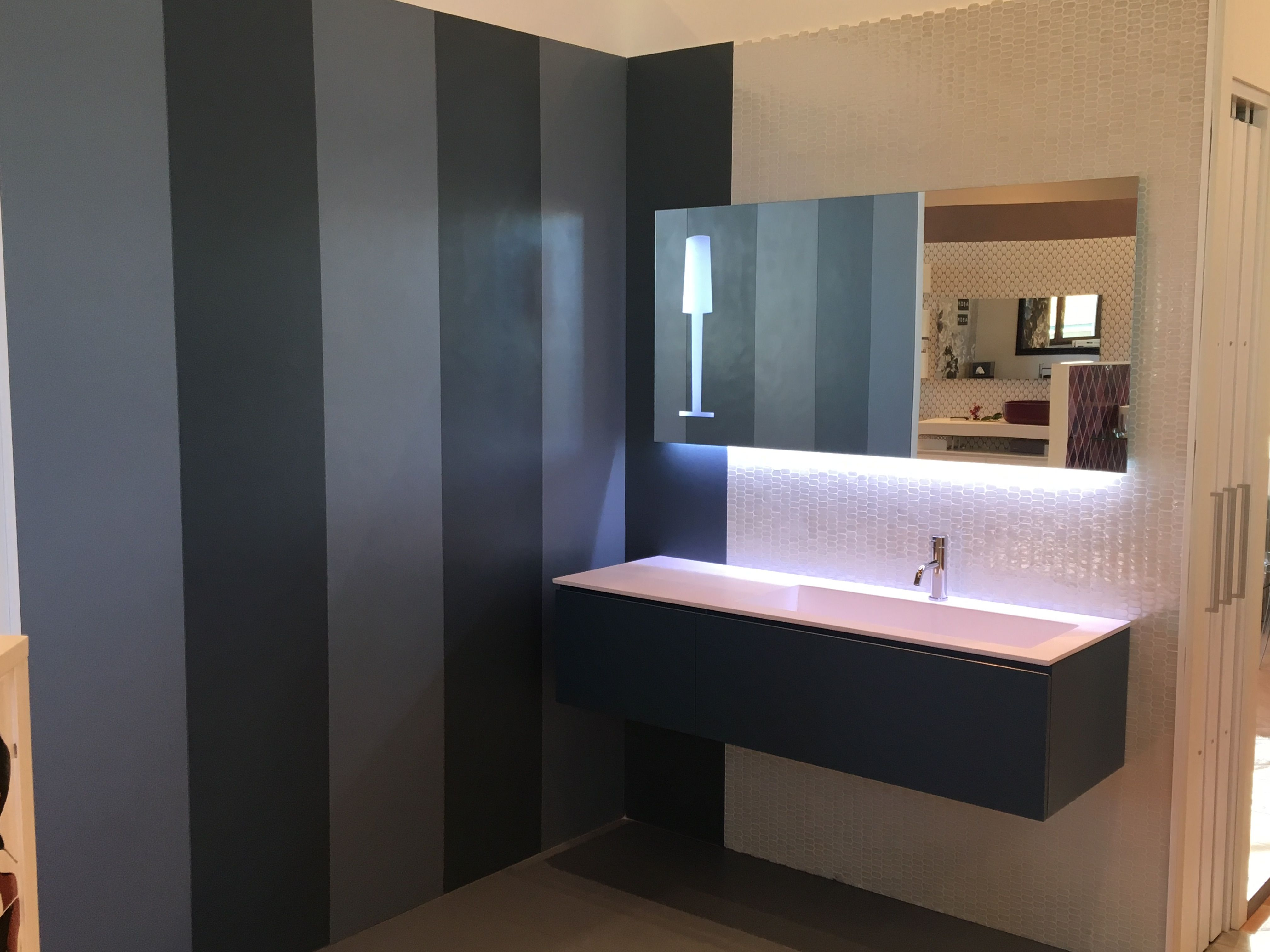 tda collezione precious serie ad sospesa h.35cm, con lavabo ... - Tda Arredo Bagno