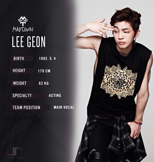 Lee Geon Madtown | Boy groups, Boy bands, Korean music