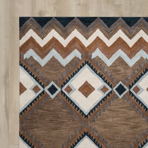 Found it at Wayfair - Upper St. Vrain Hand-Tufted Area Rug