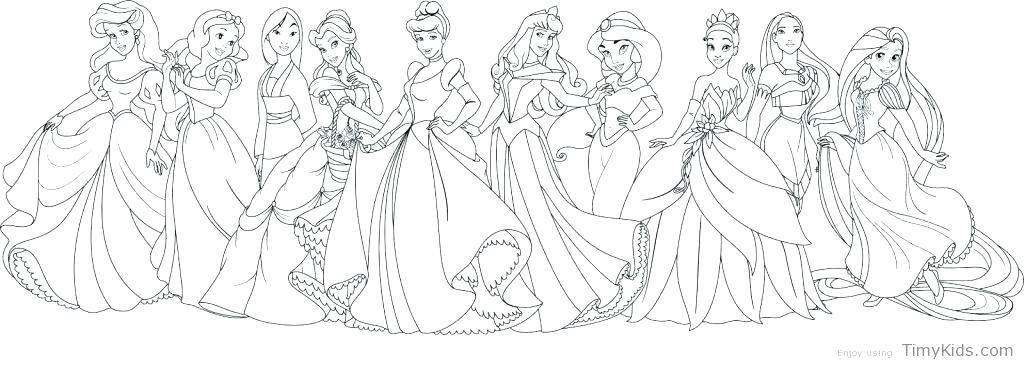 Disney Princess Coloring Pages Princess Coloring Pages Online