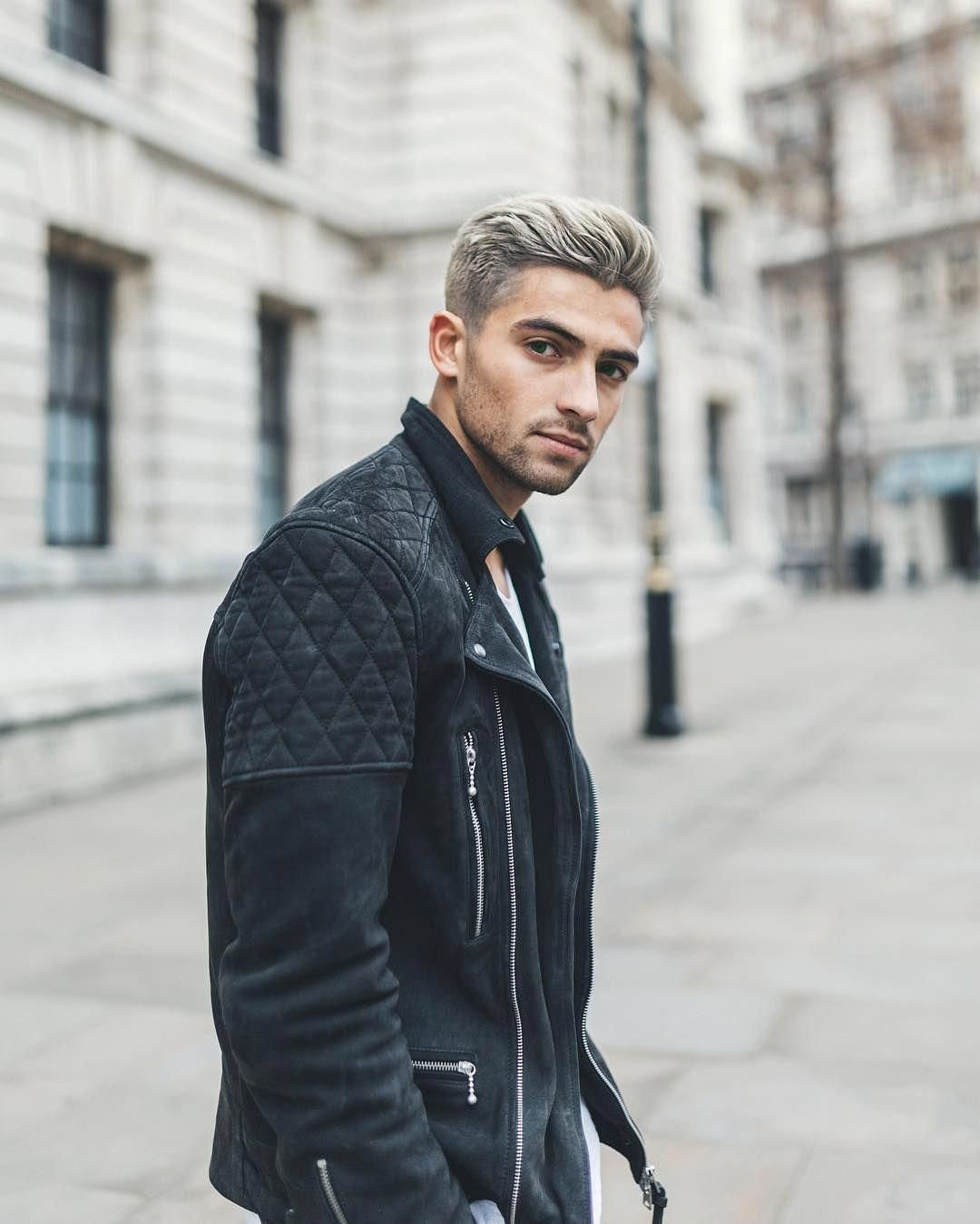 Leatherjacketsformengrey Joey London Leather Jacket Men
