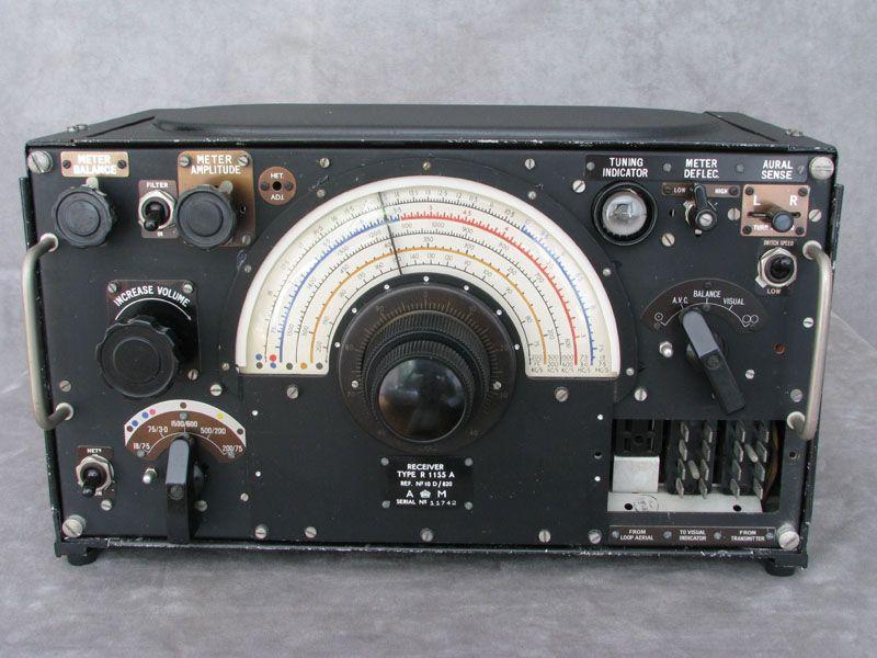 Marconi R1155 Receiver Ham Radio Ham Radio Antenna Ham Radio