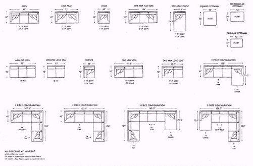 Standard Furniture Dimensions Google Search Office Furniture