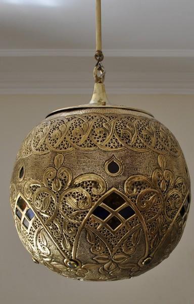 Moroccan Oxidize Brass Lantern Lamp Lighting | Design ...