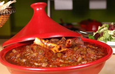 بامية بالموزات Food Meat Dishes Vegetables