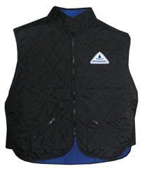 Hyperkewl Evaporative Cooling Female Deluxe Sport Vest Cooling Vest Evaporative Vest Multiple Sclerosis Ergodyne Coo High Collar Sports Vest Cooling Vest