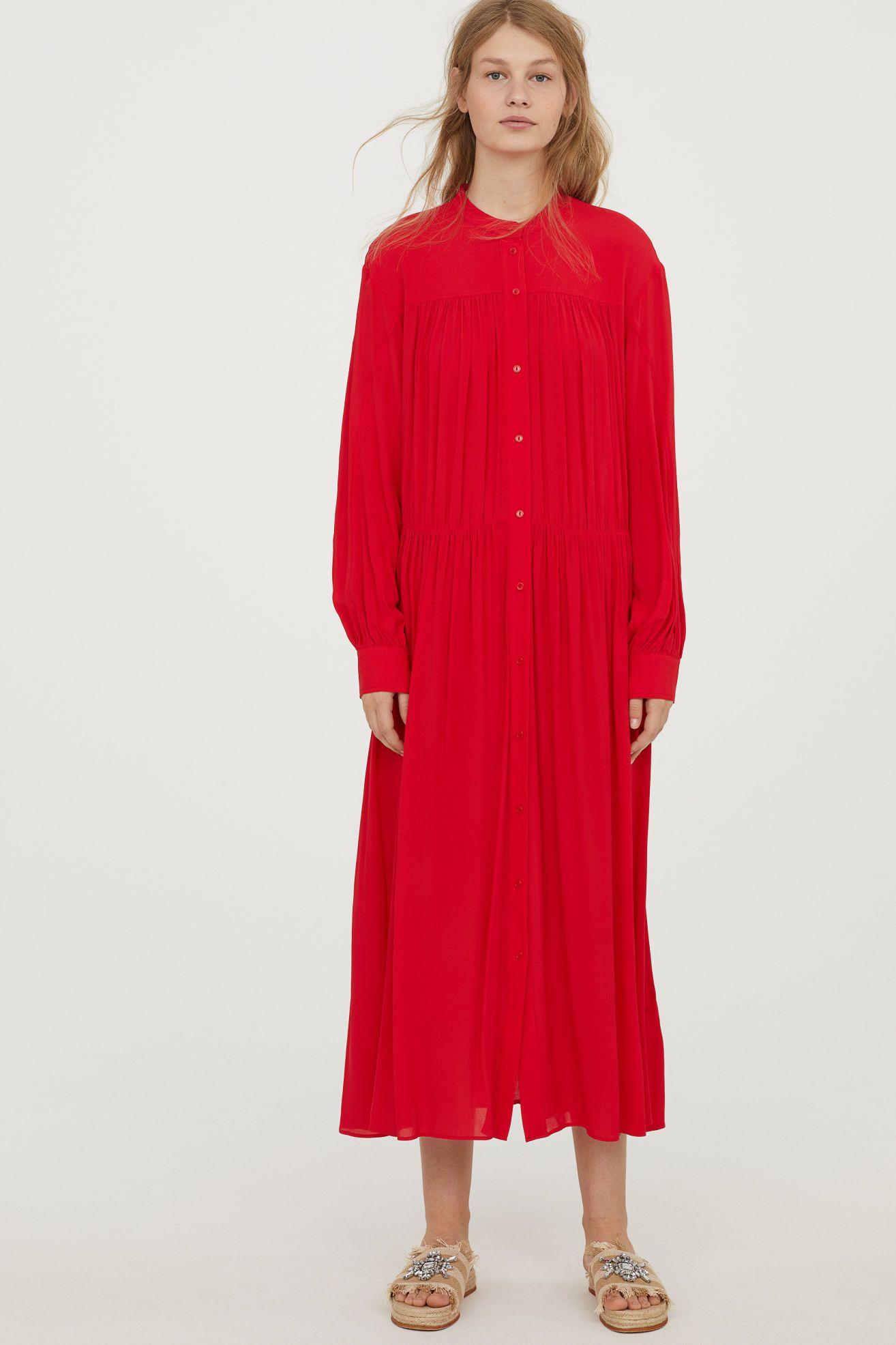 Robe rouge vif very
